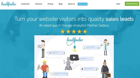 LeadFeeder. Transformez les visiteurs de votre site en leads | Les outils du Web 2.0 | Scoop.it
