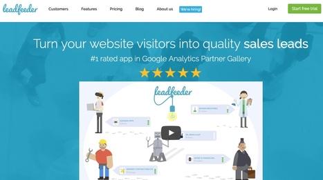 LeadFeeder. Transformez les visiteurs de votre site en leads | Les outils du Web 2.0 | Scoop.it