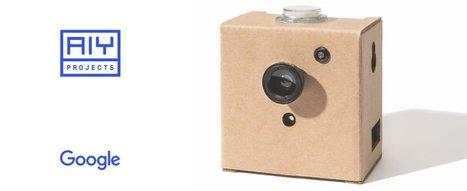 Le nouveau kit AIY Vision de Google vous permet de créer et de pirater votre propre caméra espion intelligente |  Étiquette:  robotique-codage-technologie-low-tech |  Scoop.it