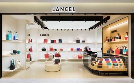81edcdca9e0cd9 LANCEL dévoile son nouveau logo et concept boutique
