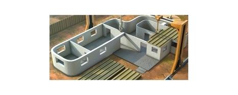 Imprimer en 3D votre maison de 200m2 pour seulement 3500 € ! | Arround real+digital, digital+fashion, etc | Scoop.it