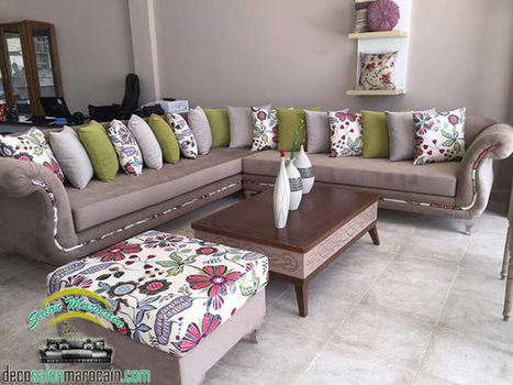 Salon marocain / décoration moderne et t...