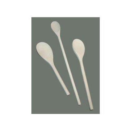 1 Dozen 18-Inch Natural Finish Wooden Spoon Winco WWP-18