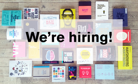New books & job opening at our headquarters | Designing  service | Scoop.it