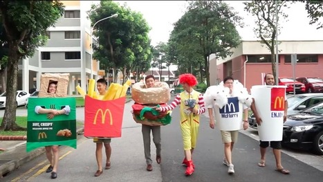 Groomsmen dress up as McDonalds' menu items for the yummiest wedding party ever | MORONS MAKING THE NEWS | Scoop.it
