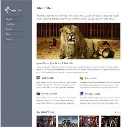 95+ Free Photoshop PSD Website Templates   WPRazzi   Premium WordPress Themes Download   Scoop.it