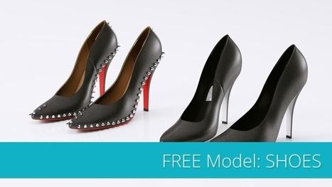 Download Free models High Heels.   ARCHIresource   Scoop.it