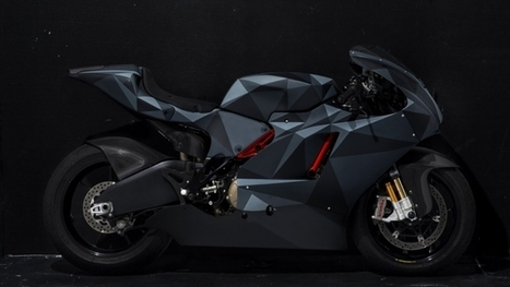 Ducati Desmosedici RR in Black Polygon Origami Camo - autoevolution | Ducati & Italian Bikes | Scoop.it