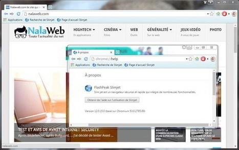 Slimjet : le navigateur rapide, efficace et qui bloque les publicités | Nalaweb | Scoop.it