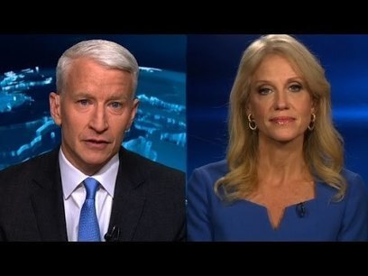 "Kellyanne Conway destroys CNN's Anderson Cooper in explosive ""fake news"" dossier interview | Global politics | Scoop.it"