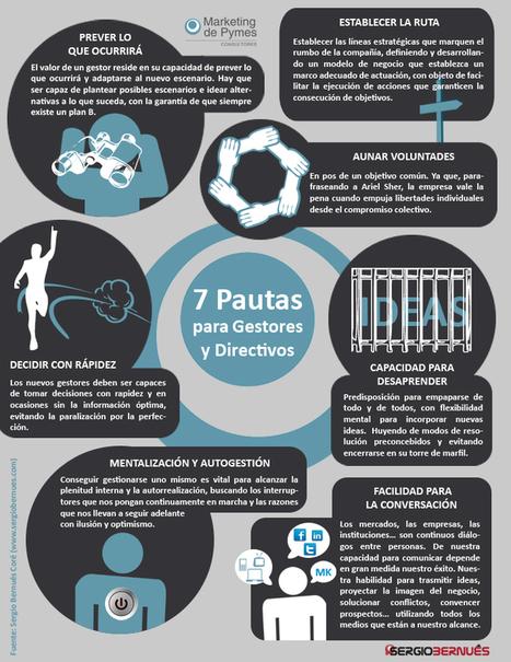 #Infografia 7-Pautas-para-Gestores-y-Directivos.jpg (711x922 pixels)   Empresa 3.0   Scoop.it