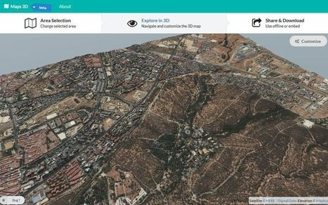 Maps 3D: aplicación web para crear tus Mapas 3D y compartirlos | Nuevas Geografías | Scoop.it
