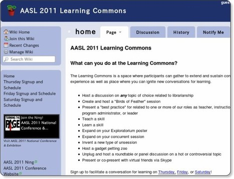 AASL 2011 Learning Commons | School Library Advocacy | Scoop.it