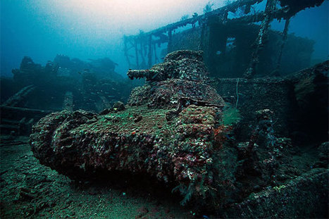 Truk Lagoon Dive Shipwrecks | Vacation Spots, World travel and Top Vacation Spots | Diving Destinations | Scoop.it