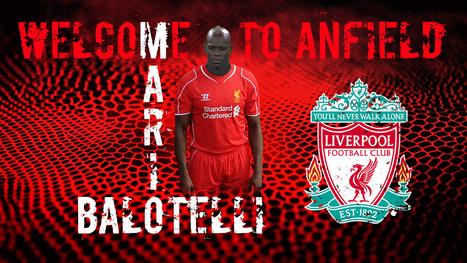 Mario Balotelli 2014 Liverpool Fc Wallpaper 9