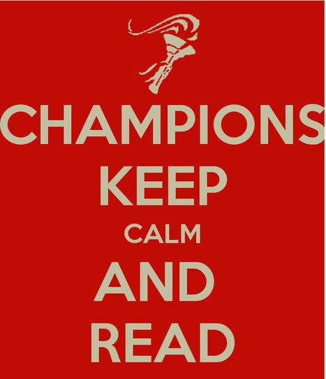 KEEP CALM AND CARRY ON reading | Education and teaching | Scoop.it