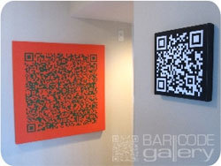 QR Codes As Fine Art | Mobile - Mobile Marketing | Scoop.it