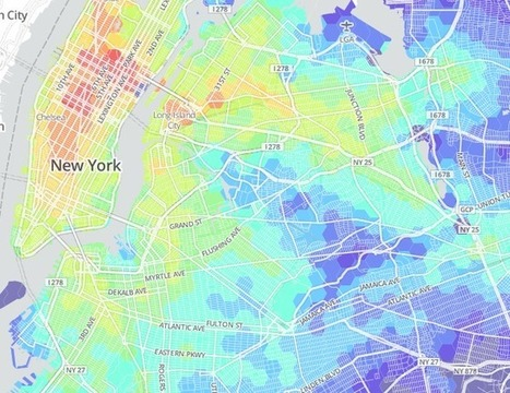 Transit Time NYC | informational landscapes | Scoop.it