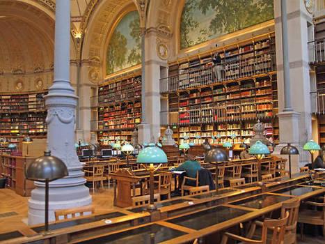 Le magnifique site Richelieu de la bibliothèque nationale a été rénové : visite guidée | Patrimoine culturel - Revue du web | Scoop.it