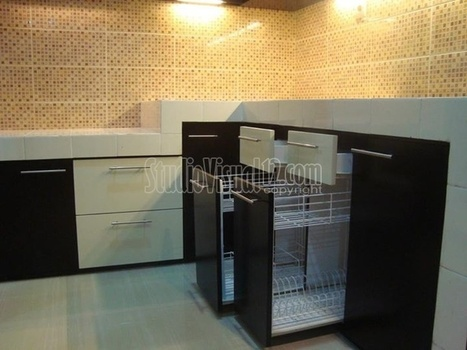 3d Desain Dapur Kitchen Set Rumah Minimalis