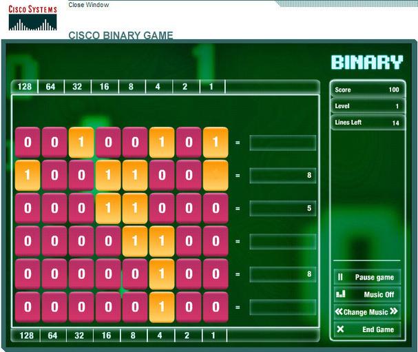 Cisco Binary Games Download | gamessite