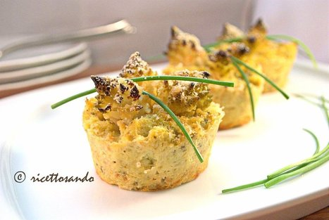 Ricettosando - ricette di cucina e chiacchiere: Flan di broccolo romano | FOOD BLOG | Scoop.it