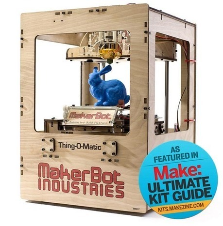 MAKE | Kit-A-Day Giveaway: MakerBot Thing-O-Matic (#2 of 5) | Kids who design, tinker, prototype and create | Scoop.it