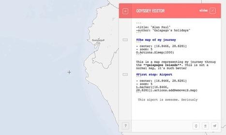 Odyssey.js   Pédagogie et web 2.0   Scoop.it