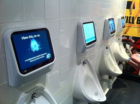 Coming Soon to the Men's Room: Games You Play With Your Pee | Wired Business | Wired.com | Great Geeky Gadgets | Scoop.it