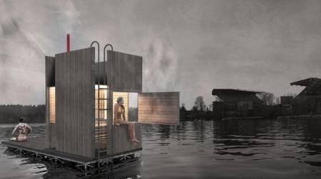 Floating sauna to be launched in Seattle | Slash's Science & Technology Scoop | Scoop.it