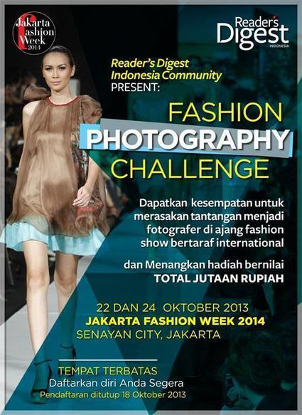 Jakarta Fashion Week:  looking for 30 photographers to take pictures | Scoop Photography | Scoop.it
