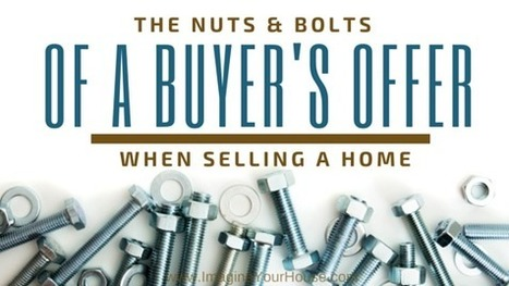 Learning the Nuts & Bolts of a Buyer's Offer When Selling a Home in Coral Springs or anywhere for that matter! | Real Estate Clips | Scoop.it
