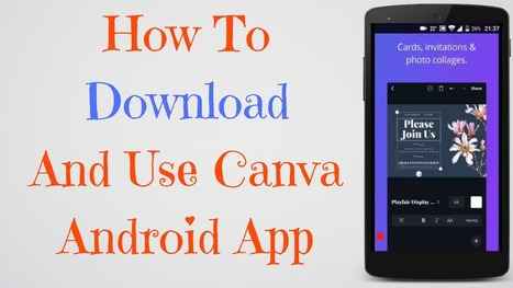 How To Download Canva Android App | Canva Andro