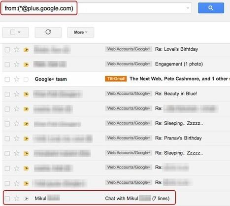 Filter Google+ notification email alerts | Tech Beats | GooglePlus Expertise | Scoop.it