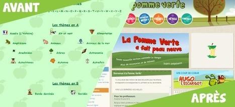 Site à découvrir : La Pomme Verte | Apprendre à l'ère numérique | Scoop.it
