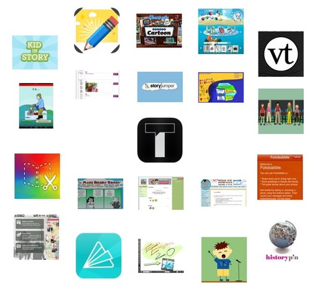 Apps and Sites for Storytelling - graphite | Technology | Scoop.it