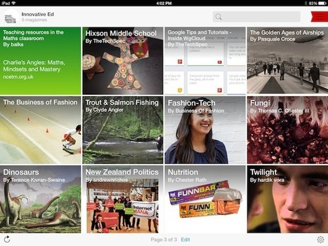 4 ways to use Flipboard in your flipped classroom - Innovation: Education | Eskola  Digitala | Scoop.it