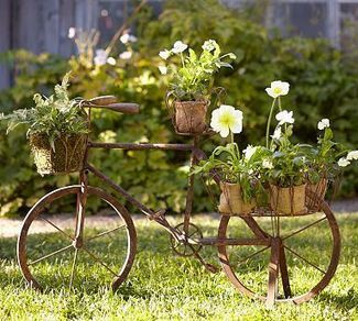 Find an old bicycle | Upcycled Garden Style | Scoop.it
