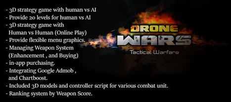 Buy Drone Wars - Tactical Warfare Full Games For Unity | Chupamobile.com | android source code | Scoop.it