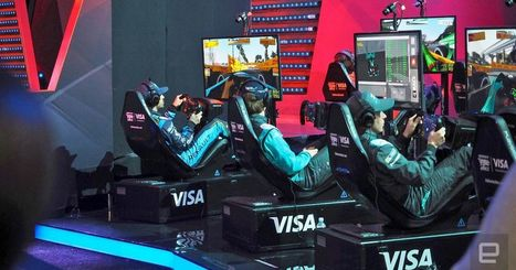 Formula E drivers battled simulator pros in a million-dollar e-race | Heron | Scoop.it