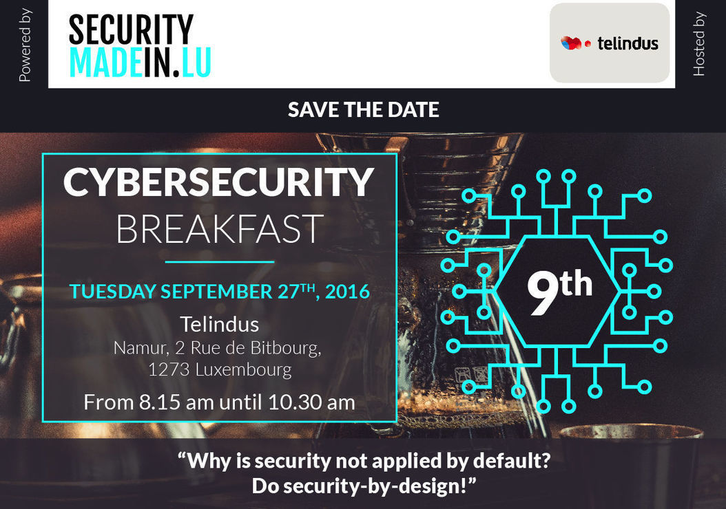 Cybersecurity Breakfast #9 - Why is security no...