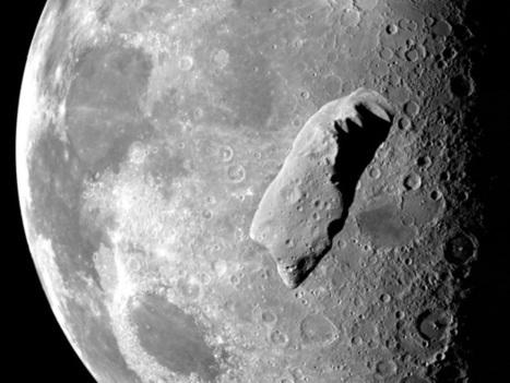 La NASA souhaite placer un astéroïde autour de la Lune | Le monde demain | Scoop.it