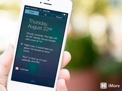 How to use Notification Center for iPhone and iPad: The ultimate guide | From the Apple Orchard | Scoop.it