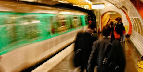 Le métro parisien, nouvel eldorado des accros au réseau | Actu webmarketing et marketing mobile | Scoop.it