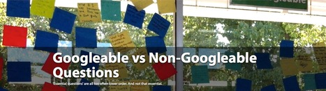 Googleable vs Non-Googleable Questions | Källkritik och informationskompetens | Scoop.it