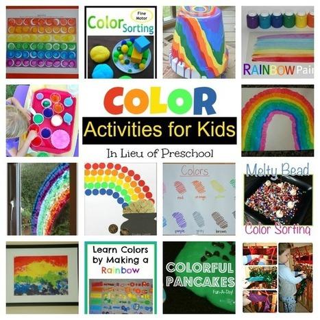 Color Activities for Kids - In Lieu of Preschool | Classroom Activities | Scoop.it
