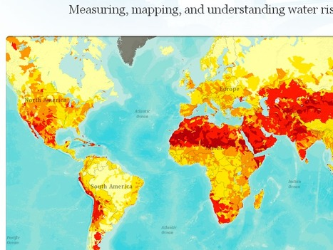 Measuring and mapping water risk | Geography learning | Scoop.it