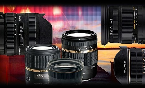 Roundup: Third-party Lenses for Enthusiasts | Photography Gear News | Scoop.it