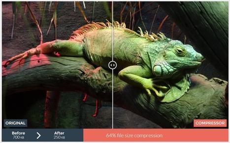 6 outils pour optimiser une image (réduire le poids sans altérer la qualité) | formation reseaux sociaux, internet, logiciels | Scoop.it