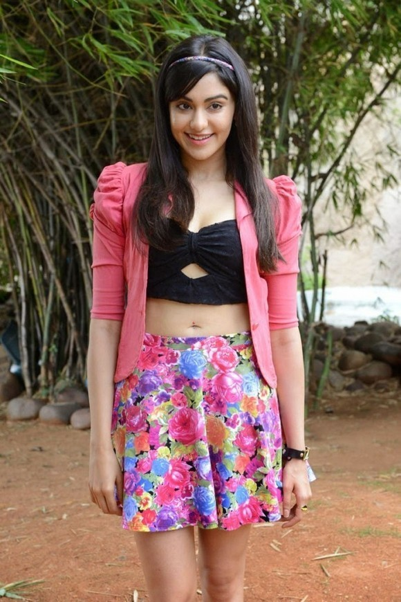 Kerala Girl Adah Sharma Photos In Floral Short
